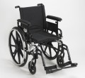 Viper Plus GT Wheelchair with Flip Back and AdjustableDesk Arms