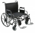 Sentra Extra Heavy Duty Dual Axle Wheelchair