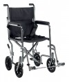 Go Cart Light Weight Transport Wheelchair with Swing away Footrest - tr17