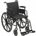 Cruiser III Light Weight Wheelchair with Adjustable Desk Arms