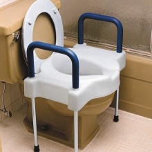 Tall-Ette Elevated Toilet Seat with Arms & Legs
